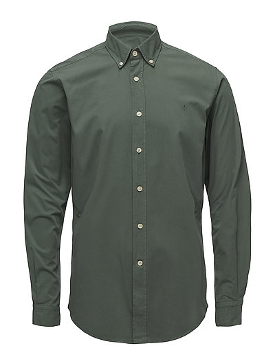 Keene Button Down Shirt - GREEN