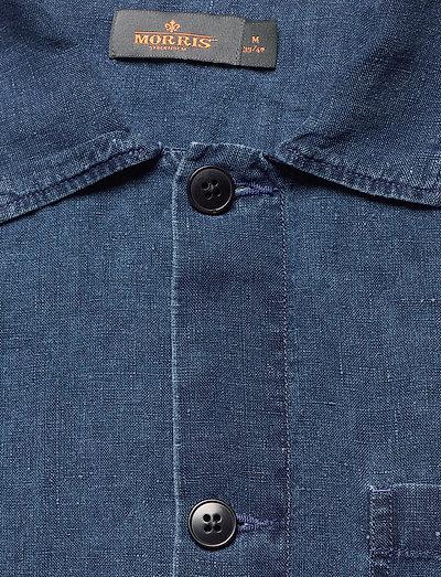 Morris Ethan Lt Shirt Jacket- Paidat Navy