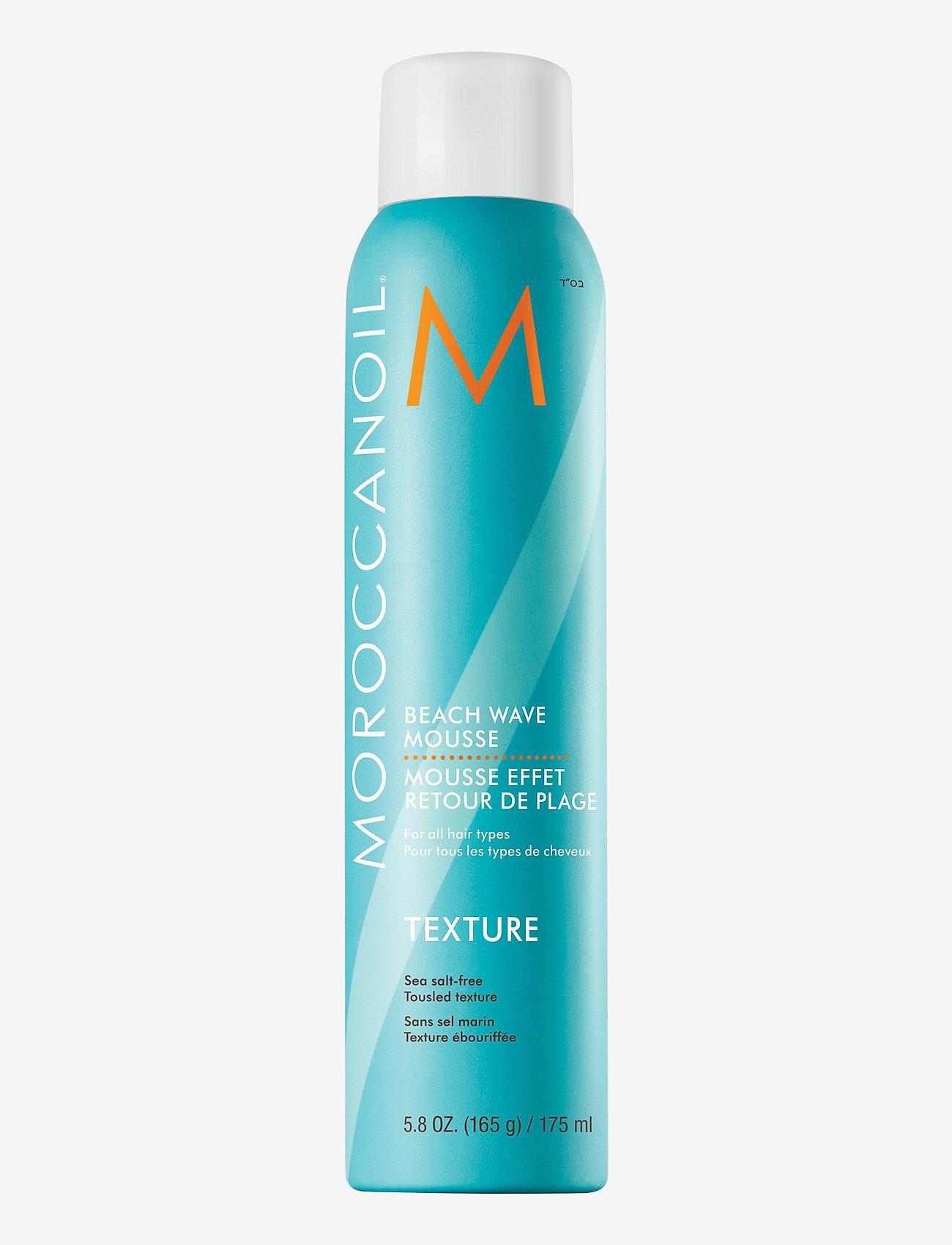 Moroccanoil - Beach Wave Mousse - hårmousse - no colour - 0