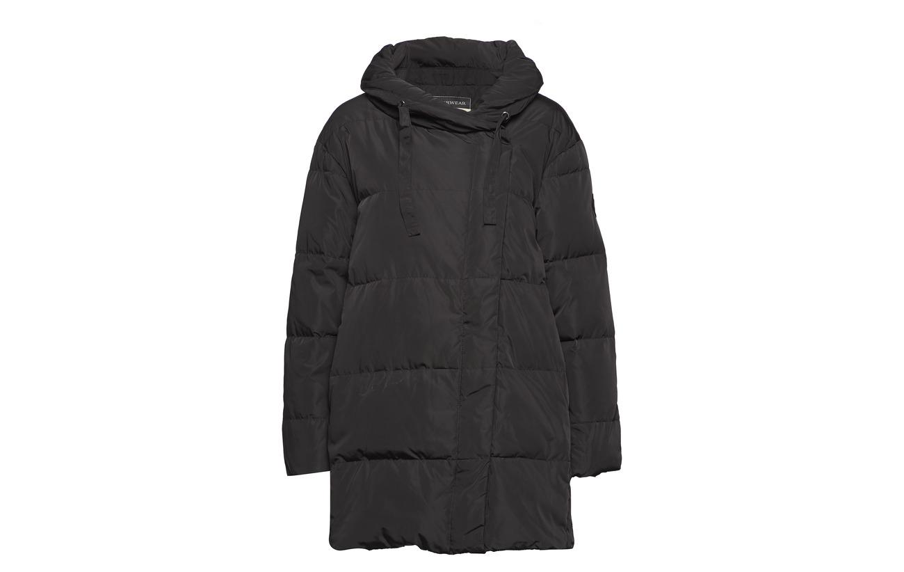 100 Intérieure Mosh Black Down Mos Leona Polyester Jacket Doublure 0czHa