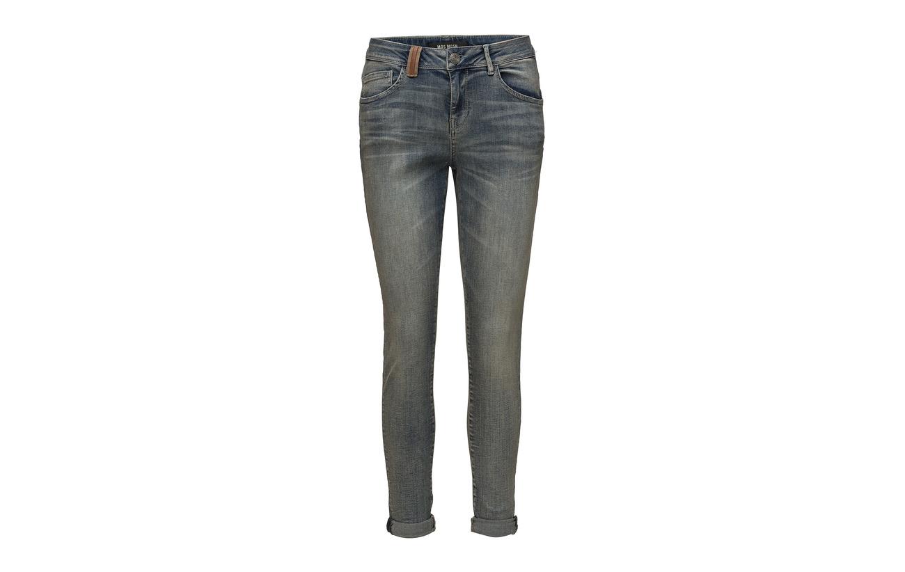 Jeans Denim Ida 87 Polyester Mos Coton Bradford 2 Elastane Light Mosh Blue 11 qEwCRtYC