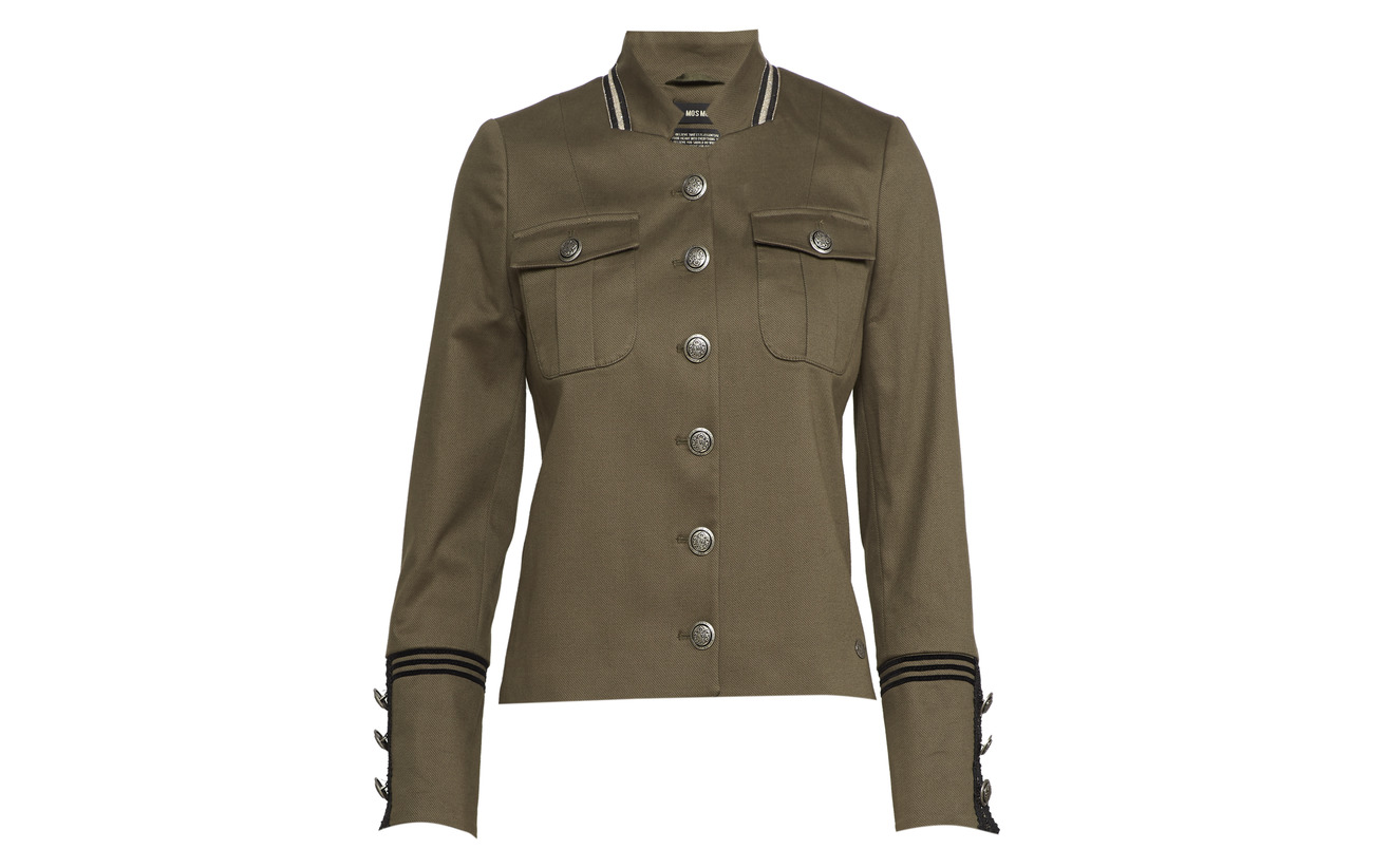 Uniform Army Jacket 3 Mos Mosh 97 Selby Elastane Coton 1nqnEwax