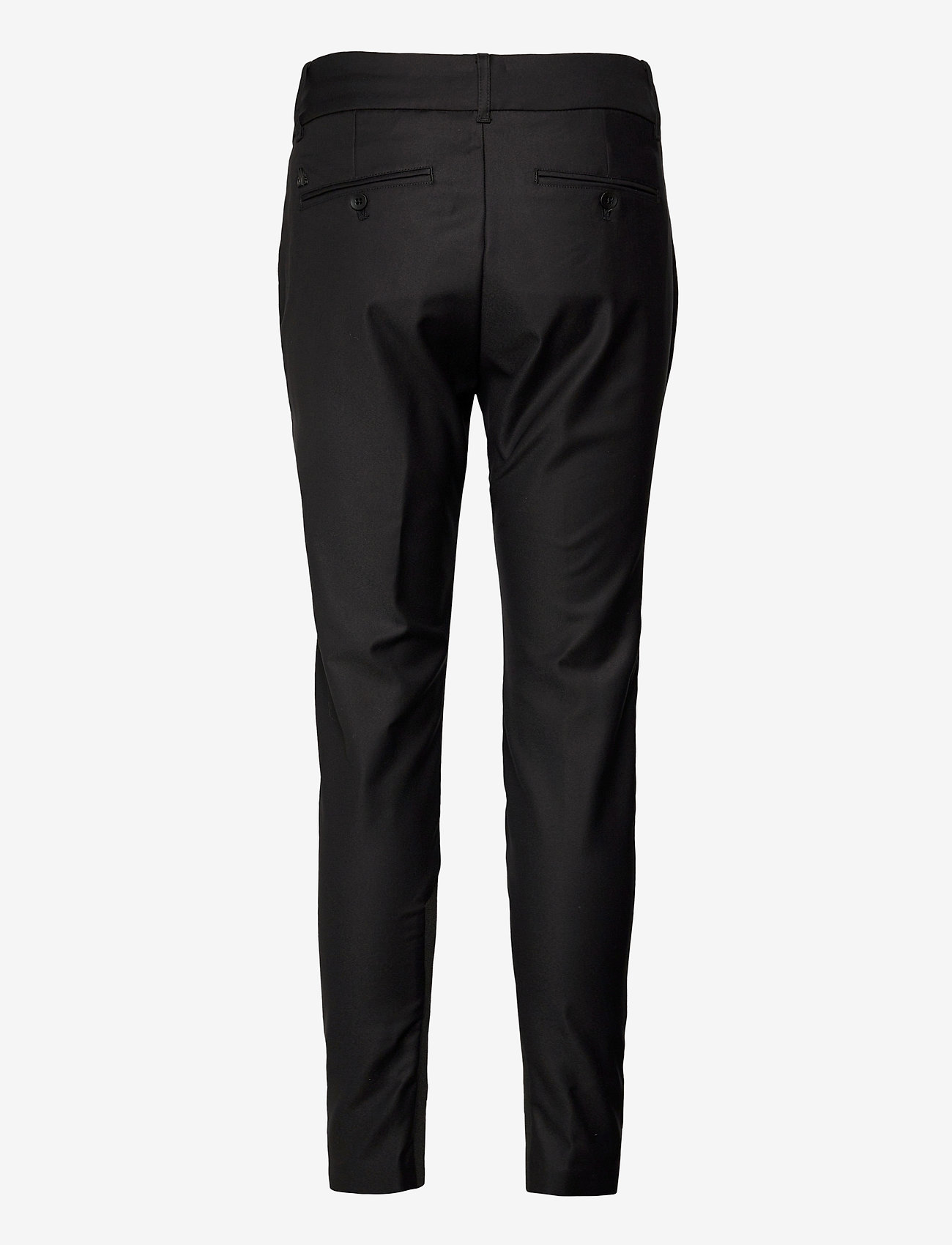 MOS MOSH - Milton Night Pant Sustainable - slim fit bukser - black - 1