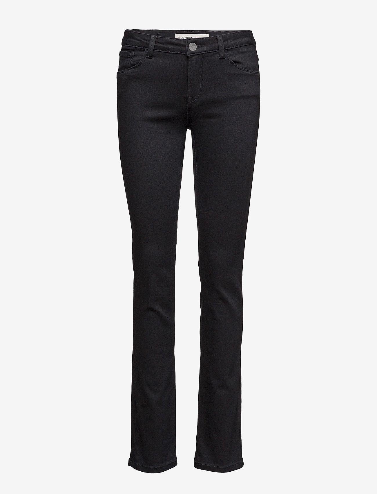 MOS MOSH - Athena Regular Jeans - straight jeans - jet black - 0