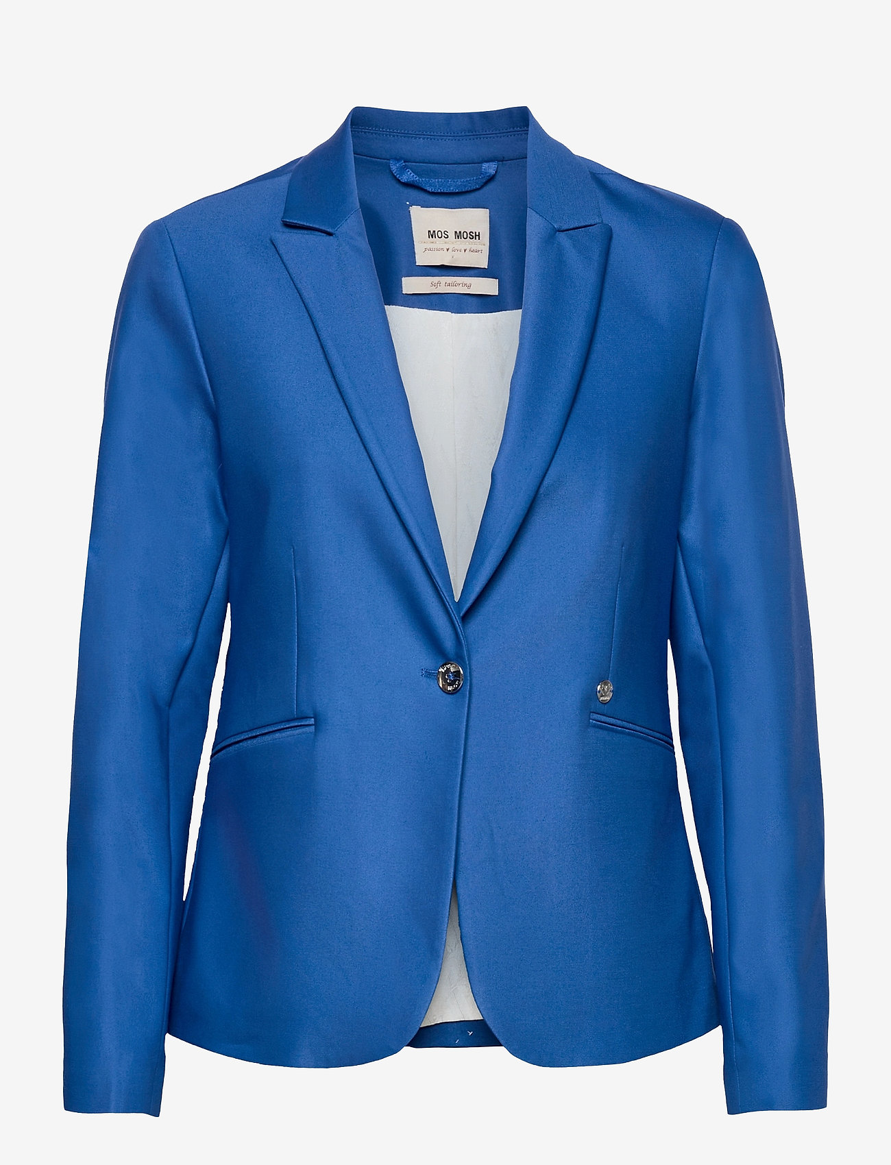 MOS MOSH - Blake Night Blazer Sustainable - vardagskavajer - true blue - 0