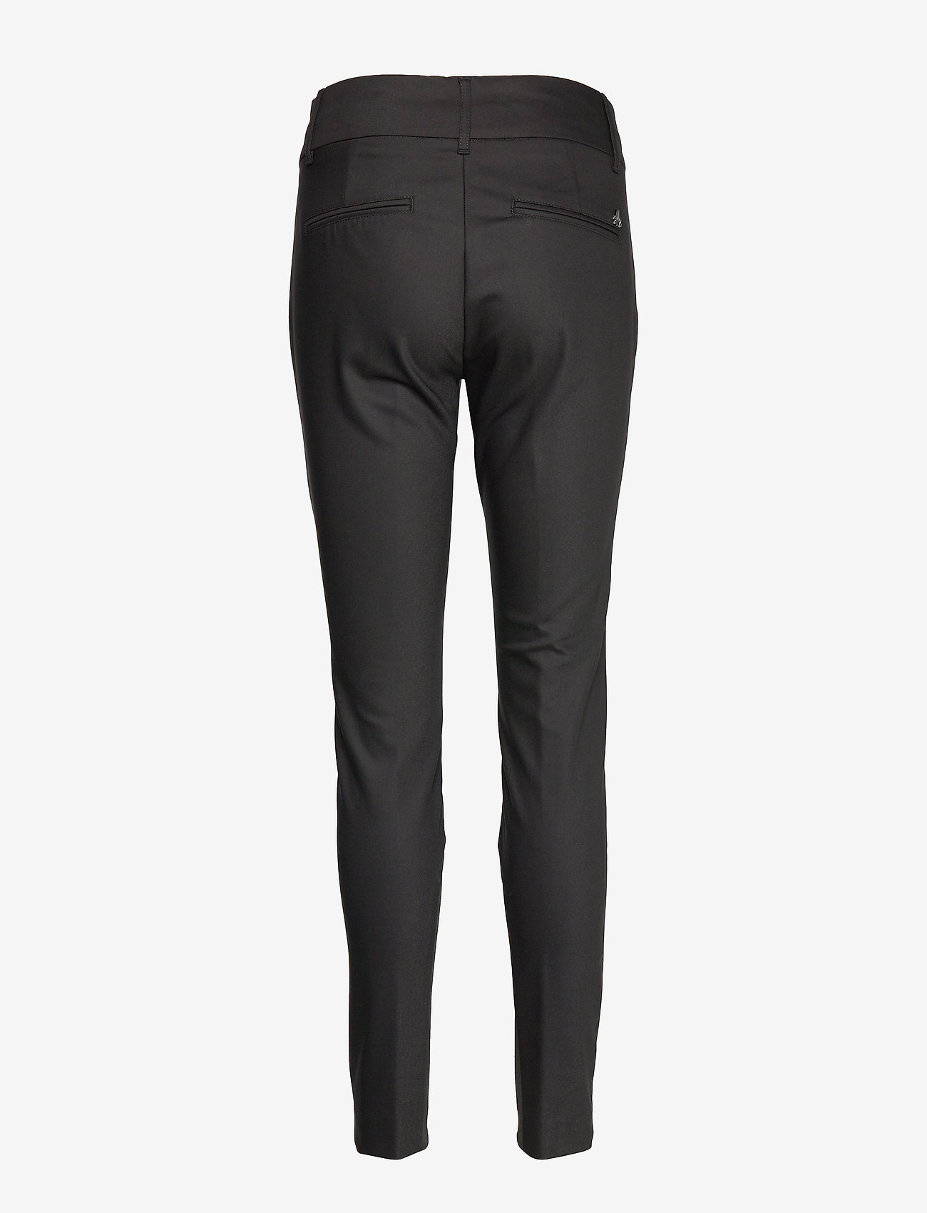 MOS MOSH - Blake Night Pant Sustainable - slim fit-byxor - black - 1