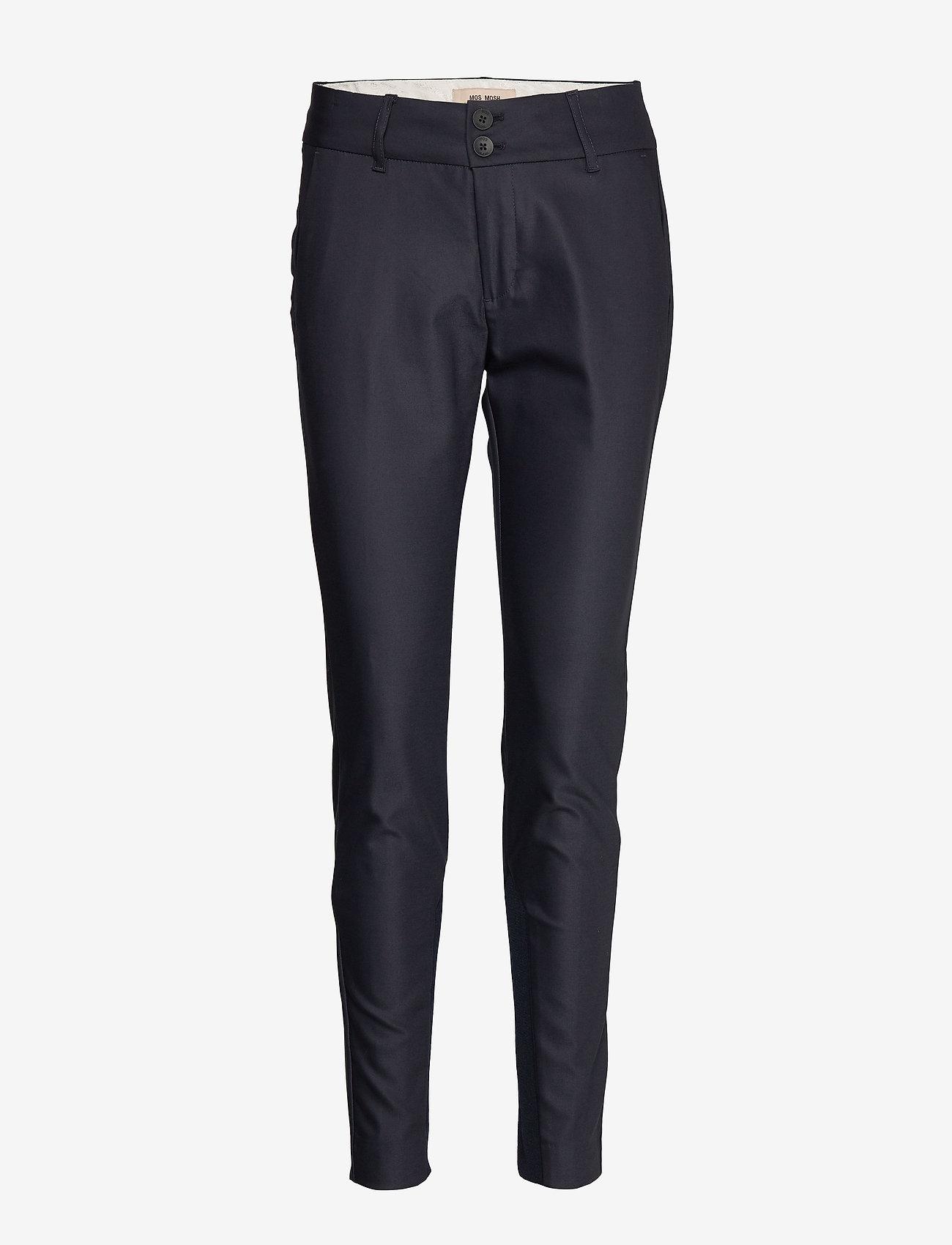 MOS MOSH - Blake Night Pant Sustainable - slim fit bukser - navy - 0