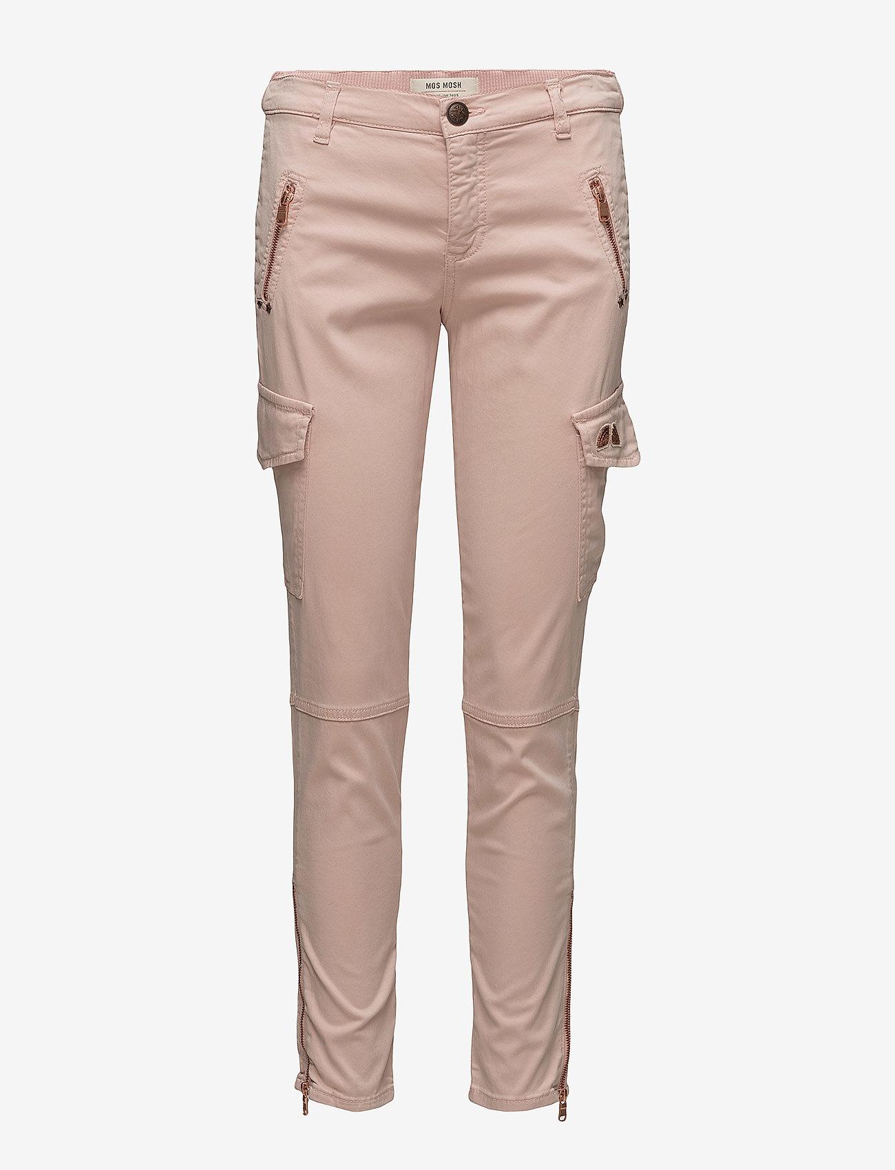 MOS MOSH - Gilles Cargo - broeken med skinny fit - rose - 0
