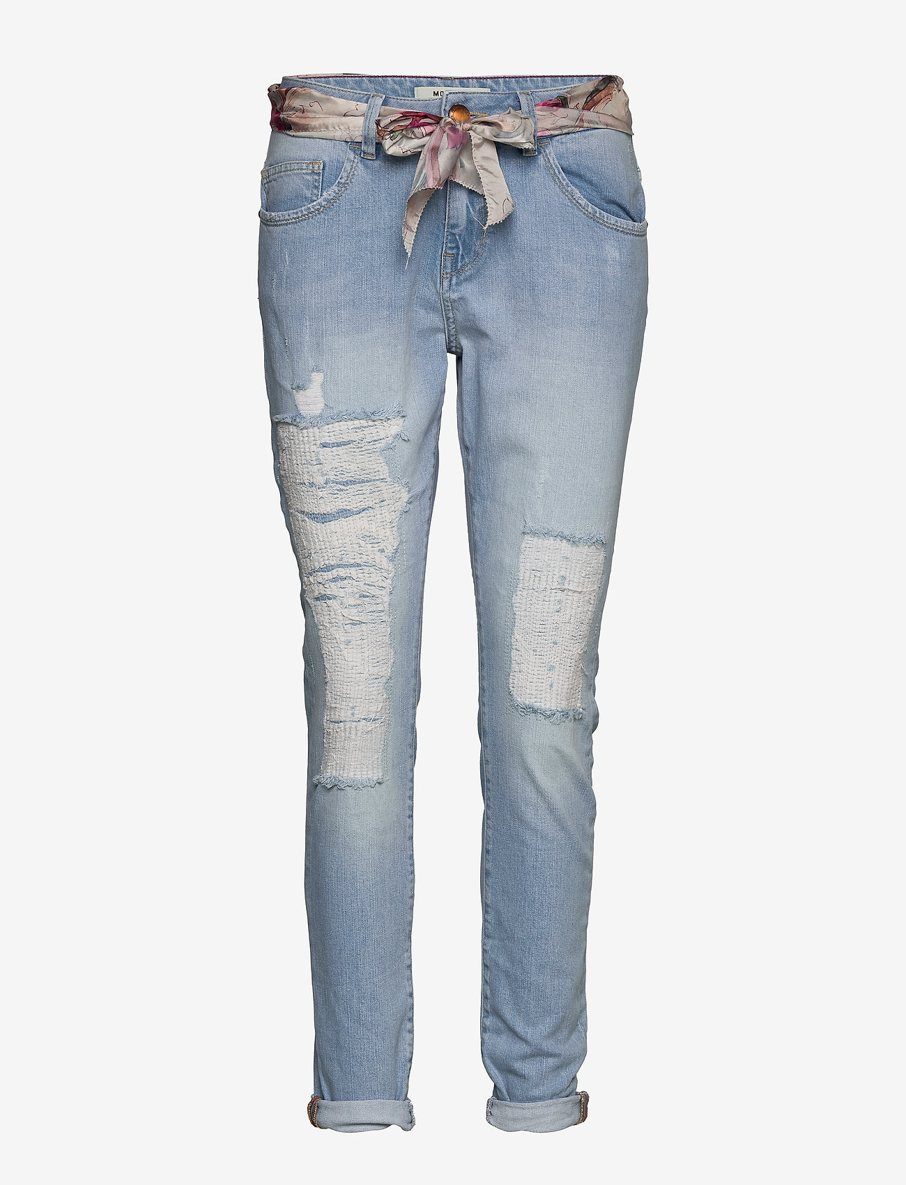 MOS MOSH - Bradford Bleach Jeans - dżinsy chłopaka - bleached blue - 0