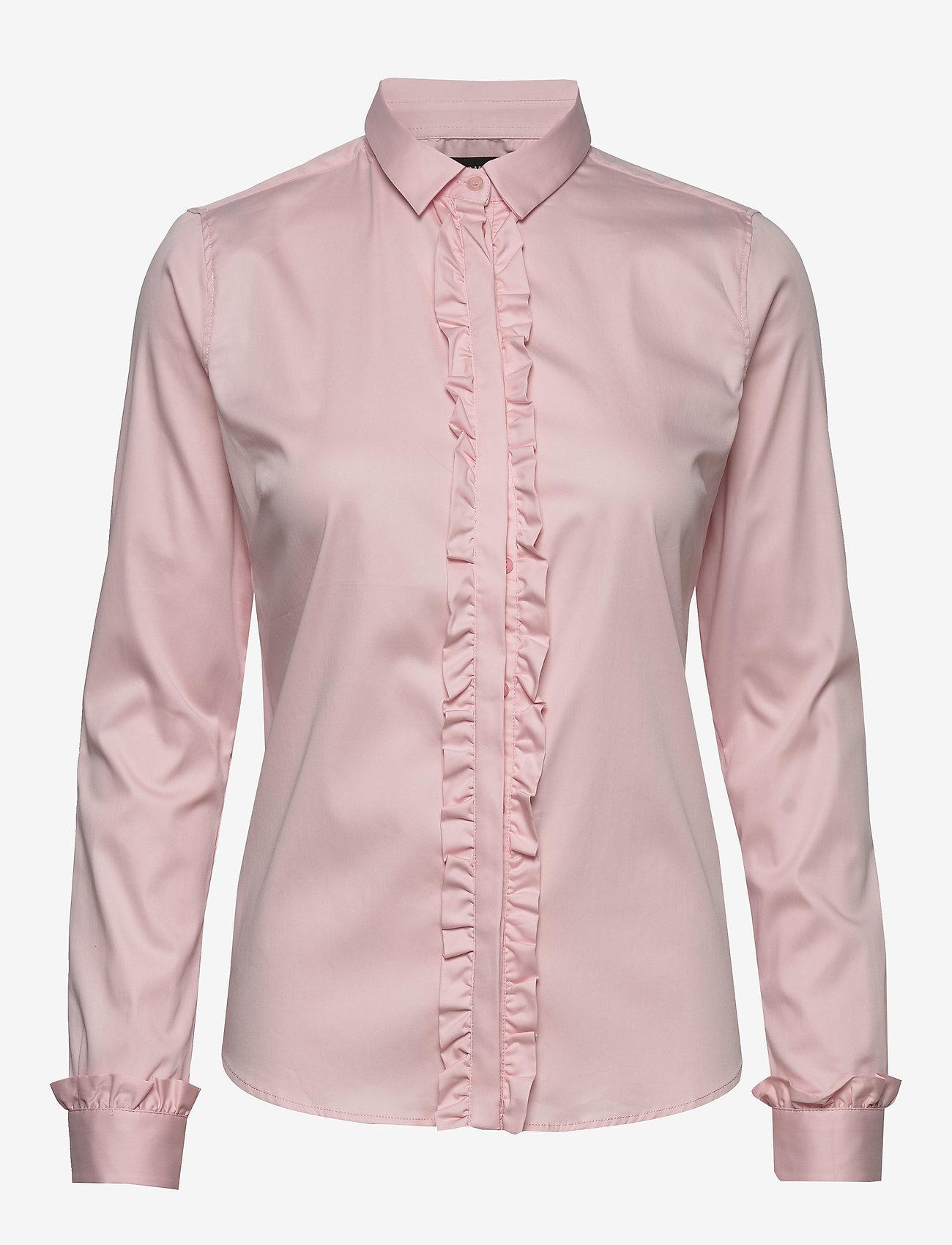 MOS MOSH - Tilda Flounce Shirt - langermede skjorter - soft rose