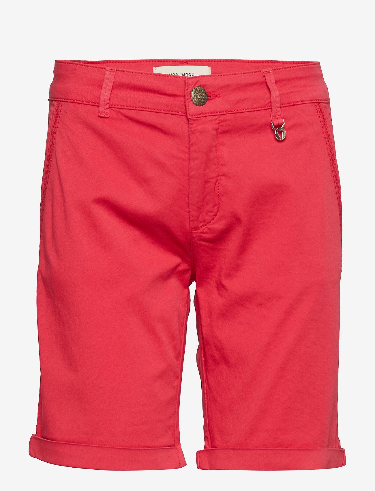 MOS MOSH Perry Chino Shorts - Szorty RIO RED - Kobiety Odzież.