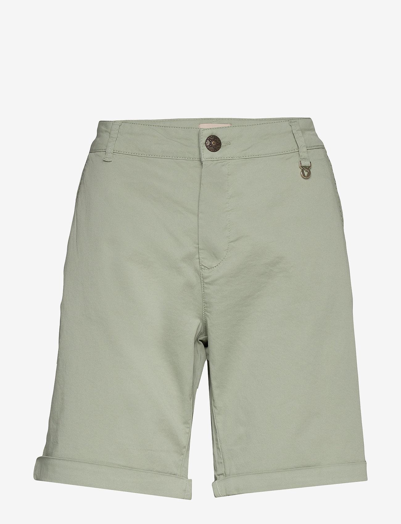 MOS MOSH - Perry Chino Shorts - shorts casual - sage green - 0