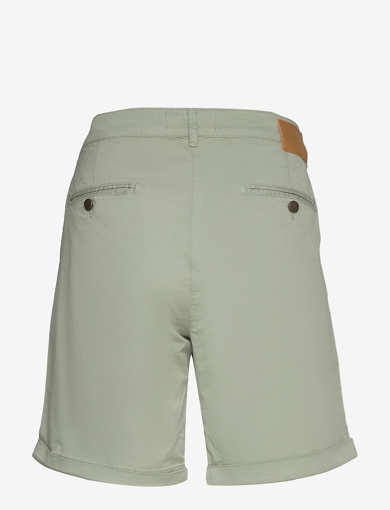 MOS MOSH - Perry Chino Shorts - shorts casual - sage green - 1