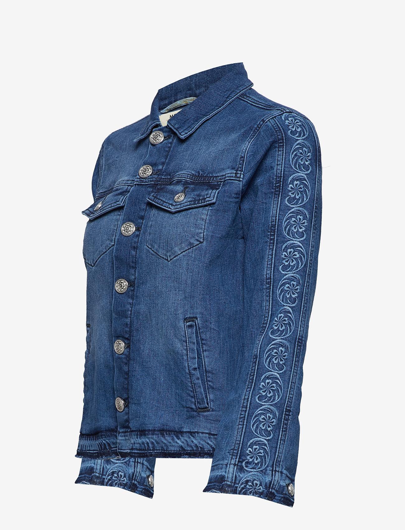 MOS MOSH Arrie Free Jacket - Jackets & Coats BLUE DENIM