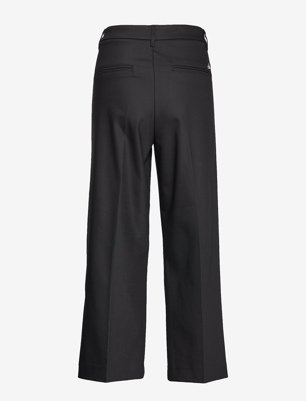 MOS MOSH - Como Night Pant Sustainable - bukser med brede ben - black - 1