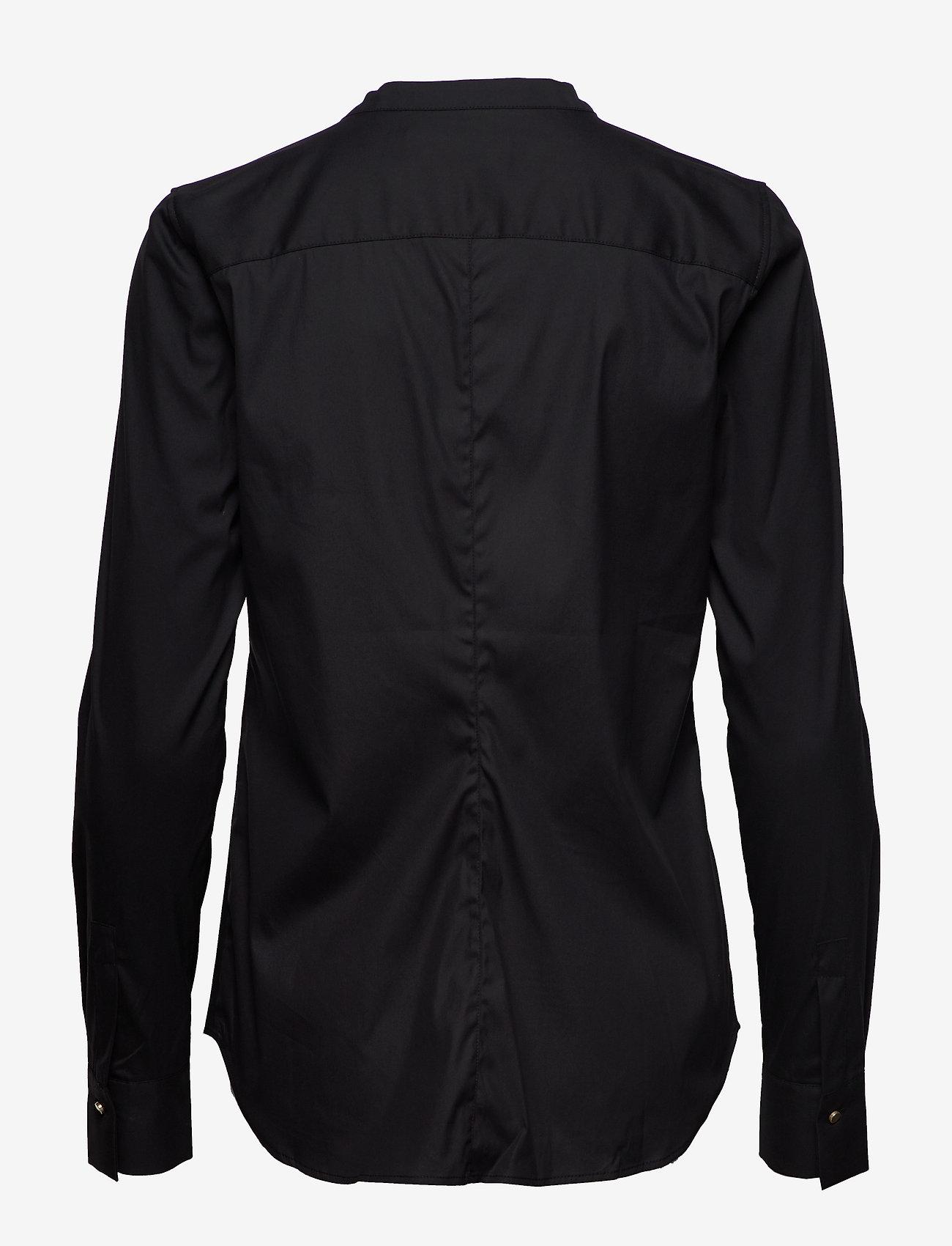 MOS MOSH Maggie Golden Shirt - Bluzki & Koszule BLACK - Kobiety Odzież.