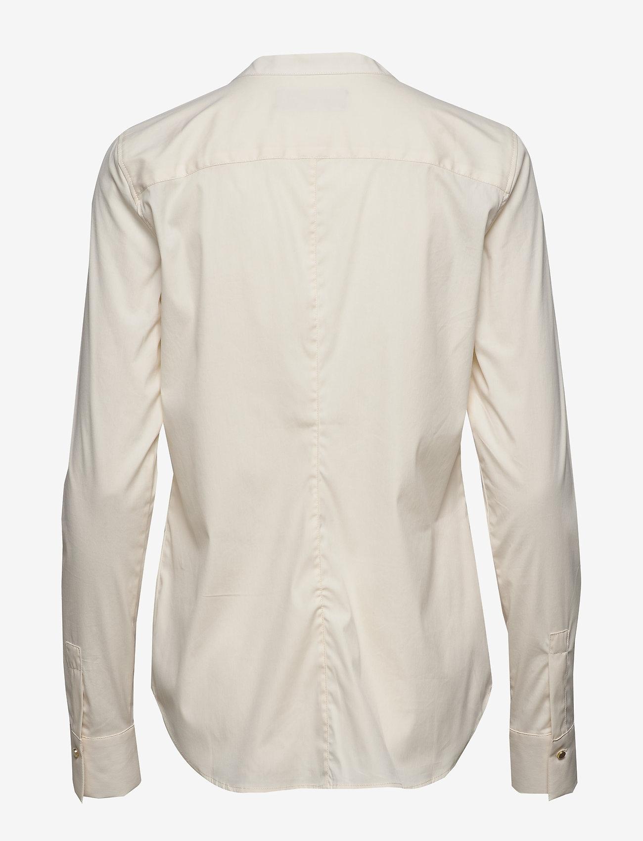 MOS MOSH Maggie Golden Shirt - Bluzki & Koszule ECRU - Kobiety Odzież.