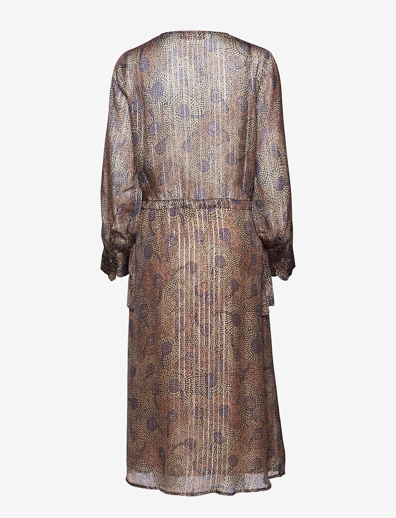 MOS MOSH Chita Peacock Dress - Dresses PEACOCK PRINT