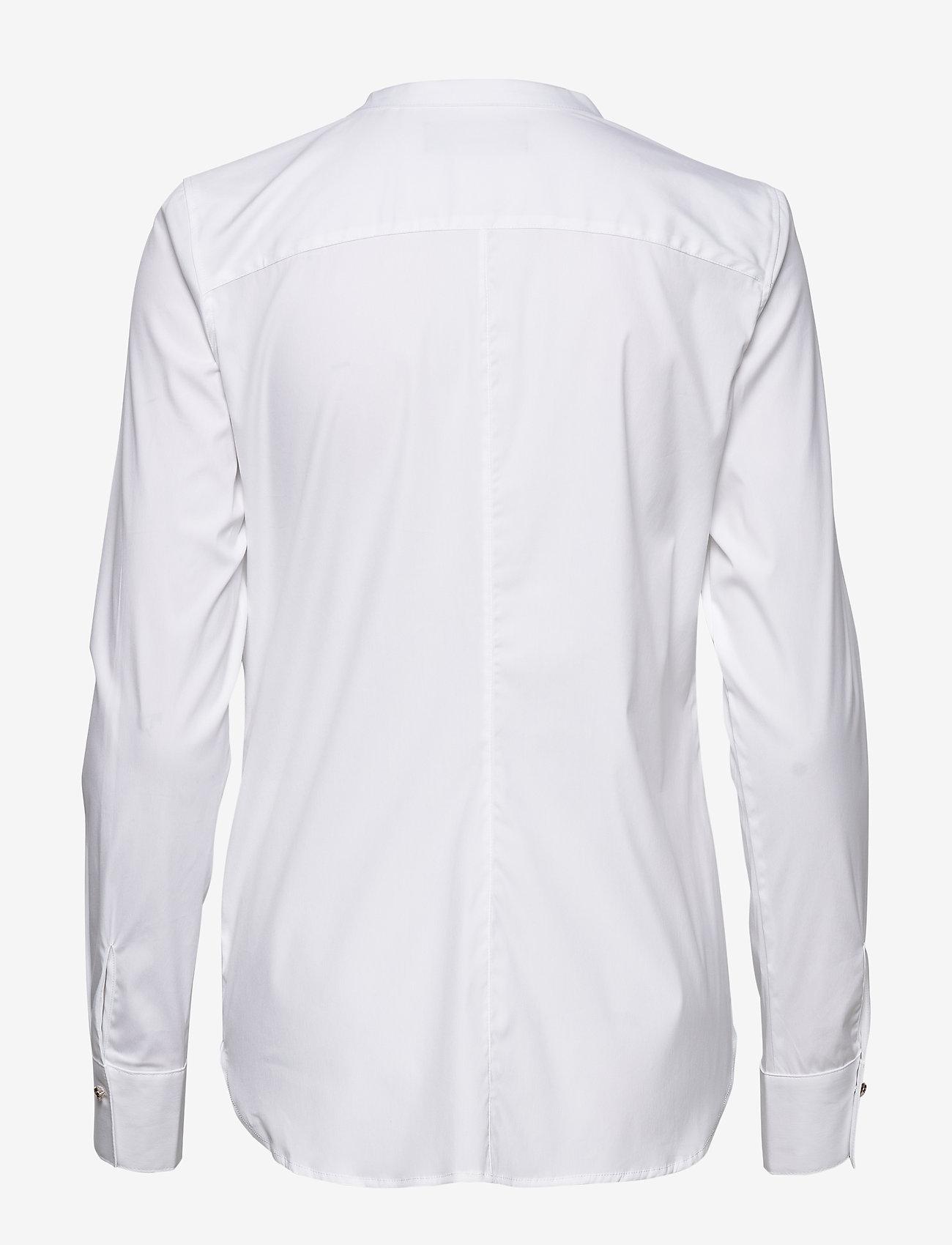 MOS MOSH - Maggie Chain Shirt - langermede skjorter - white