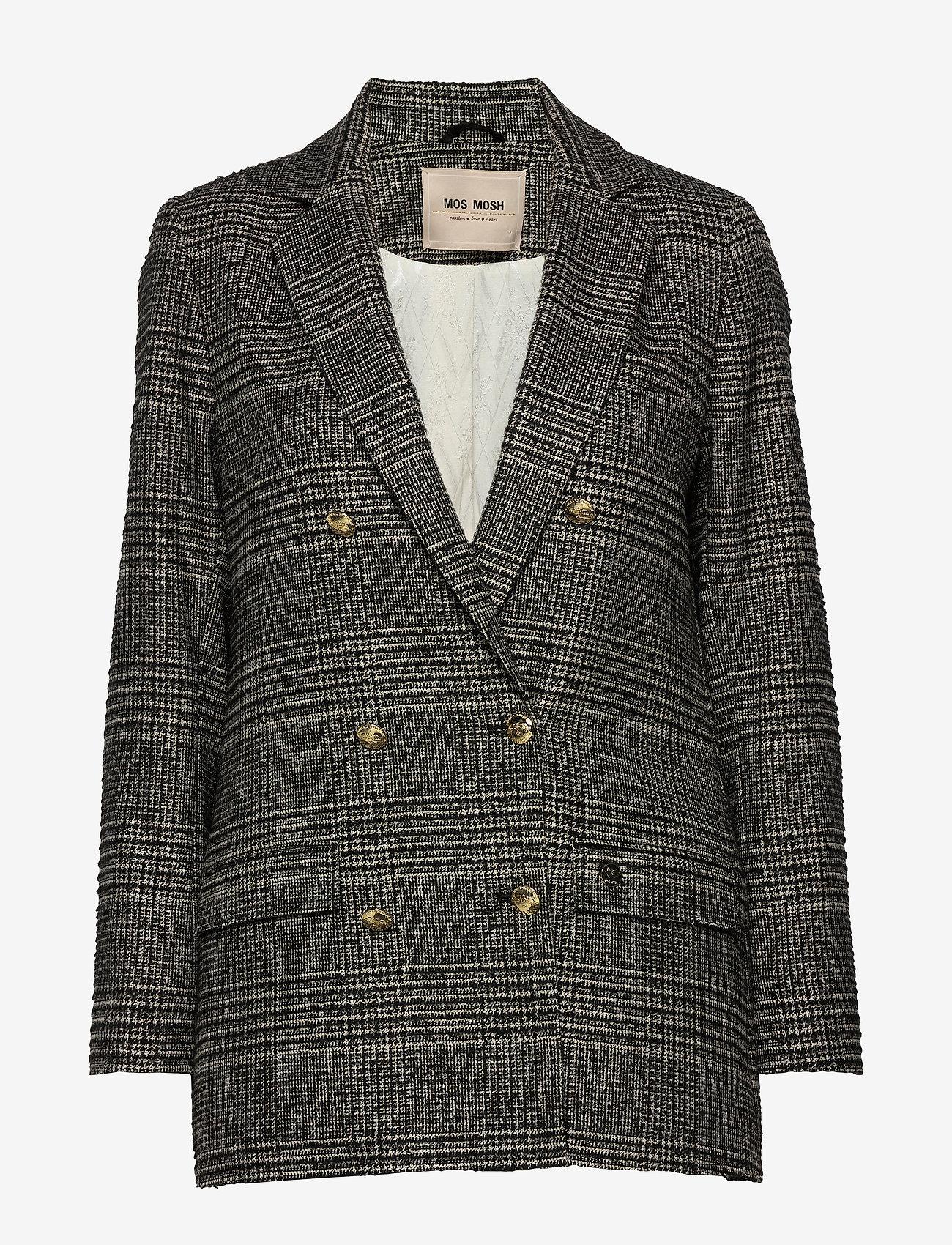 MOS MOSH - Mia York Jacket - matchende sett - black check