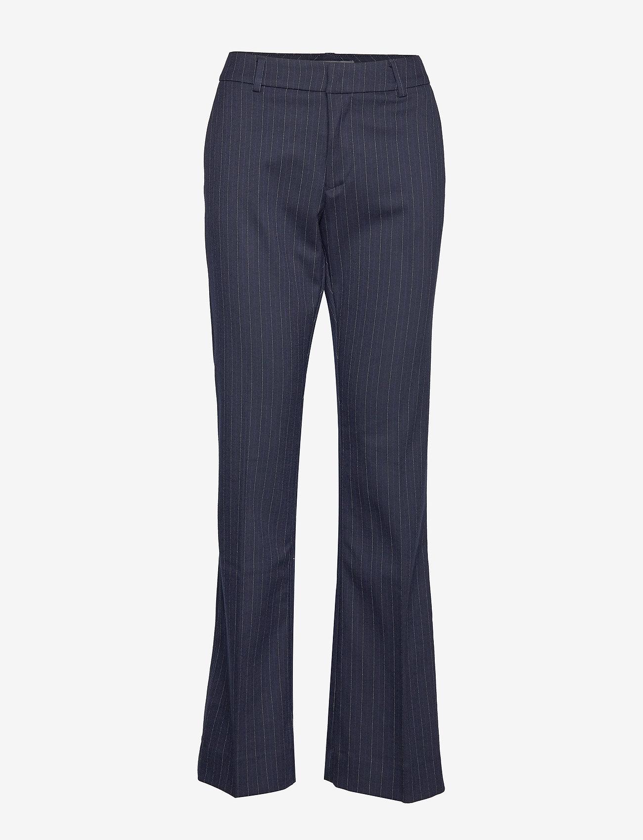 MOS MOSH - Farrah Pin Pant - pantalons droits - salute navy - 0