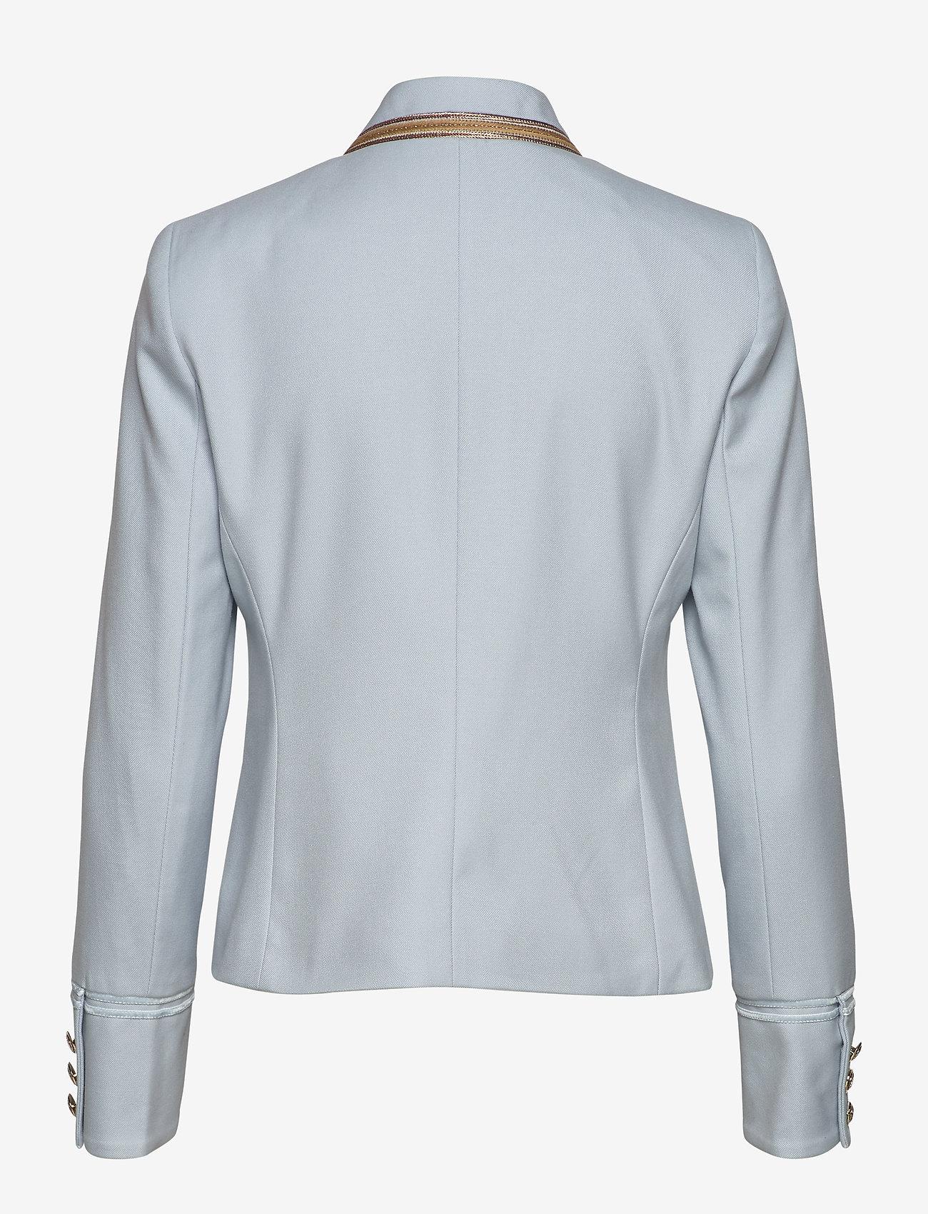 MOS MOSH Selby Twiggy Jacket - Blezery CELESTIAL BLUE - Kobiety Odzież.