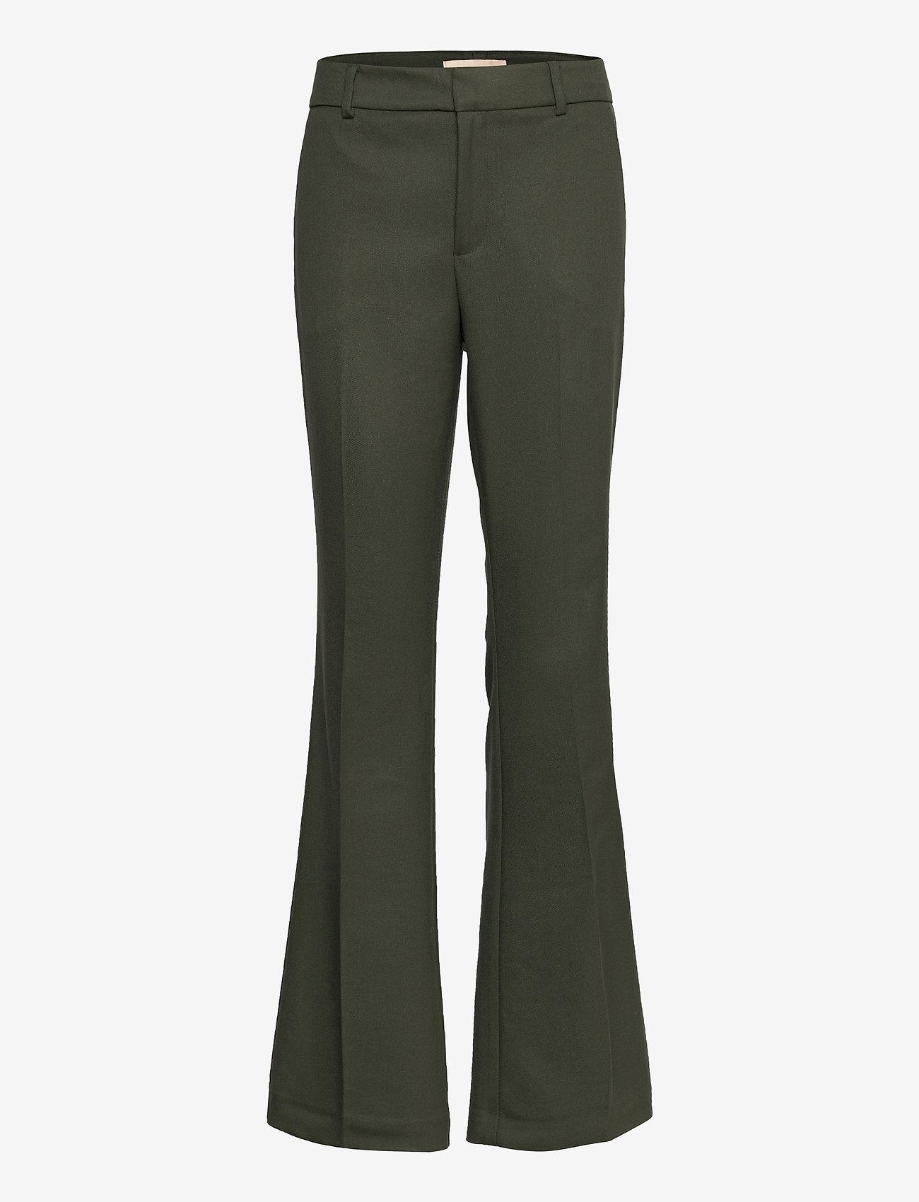 MOS MOSH - Farrah Twiggy Pant Sustainable - schlaghosen - duffel bag - 0