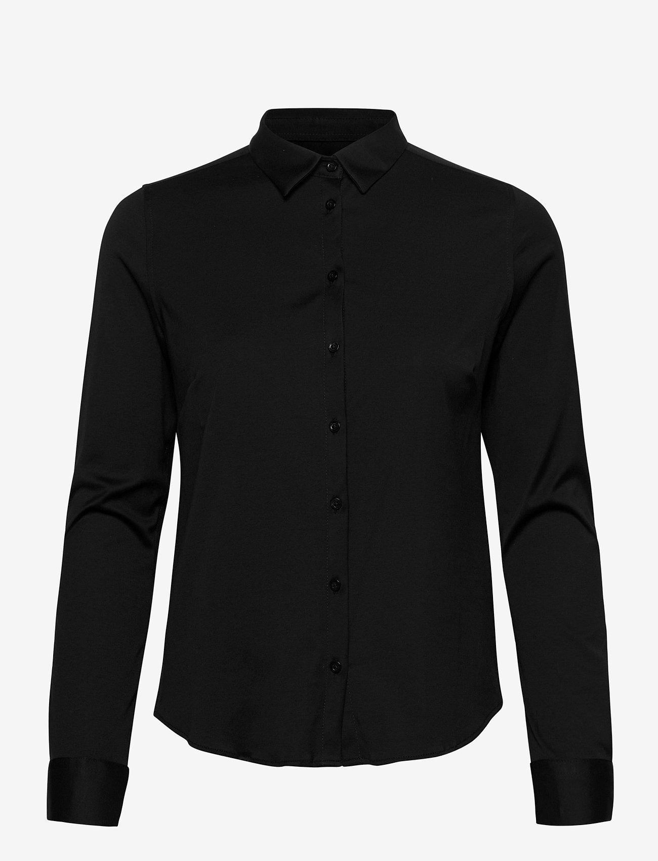 MOS MOSH - Tina Jersey Shirt - chemises à manches longues - black - 0