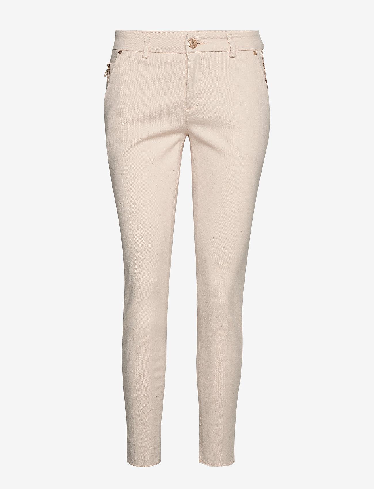 MOS MOSH - Blake Rich Jeans - pantalons slim - ecru - 0