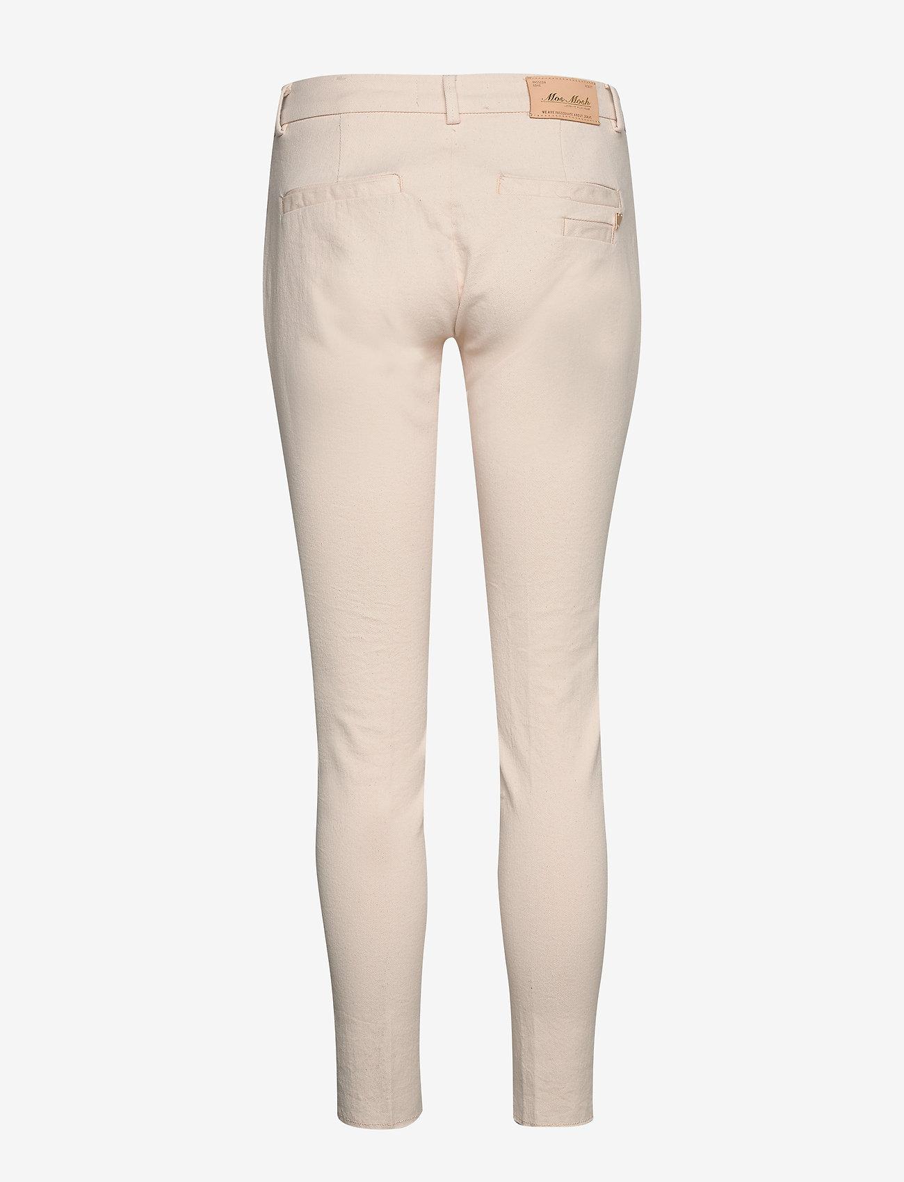 MOS MOSH - Blake Rich Jeans - pantalons slim - ecru - 1