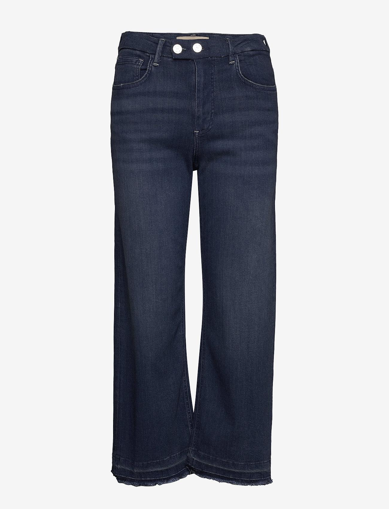 MOS MOSH - Bailey Rich Jeans - broeken met wijde pijpen - blue - 0