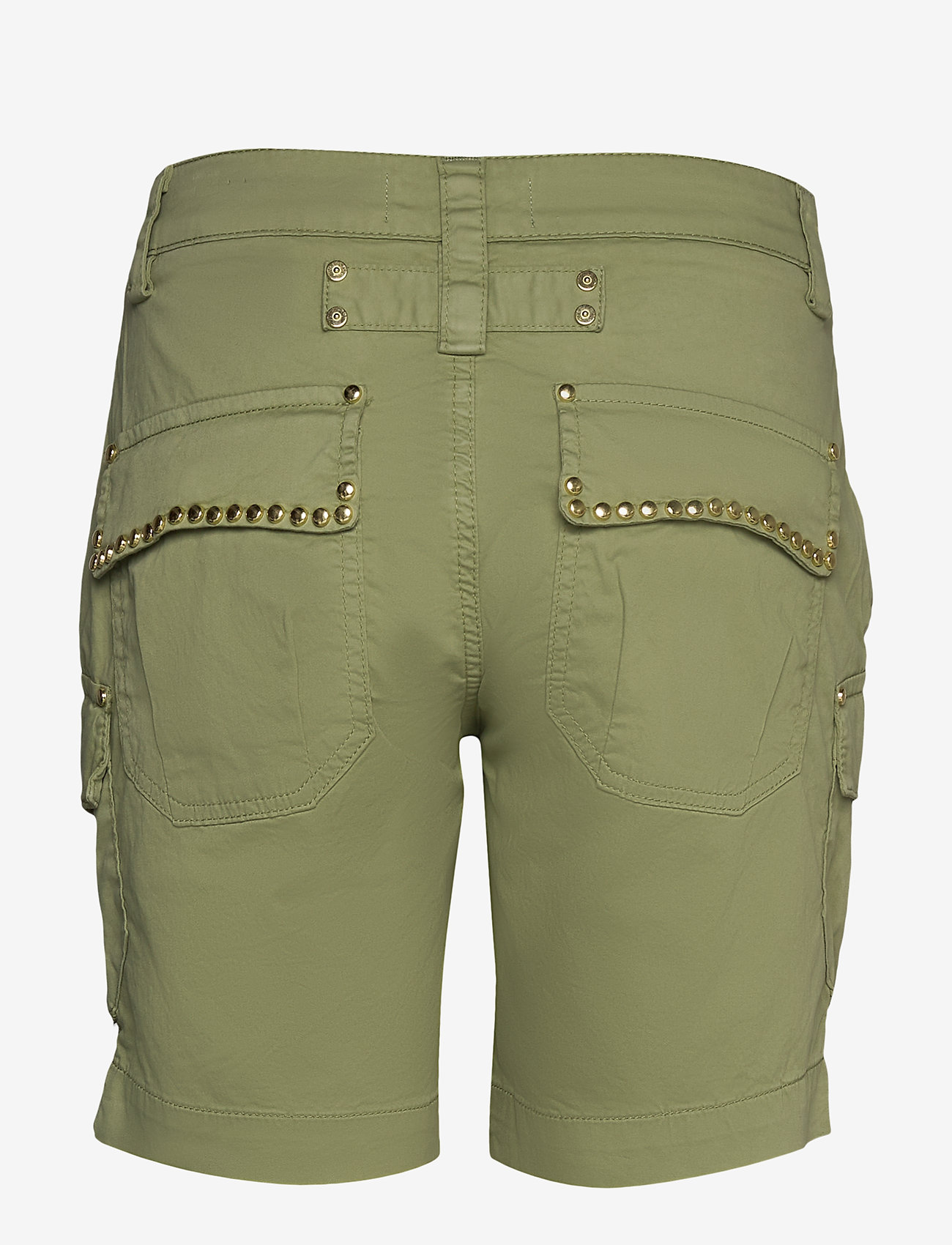 MOS MOSH - Cheryl Cargo Shorts - casual shorts - oil green