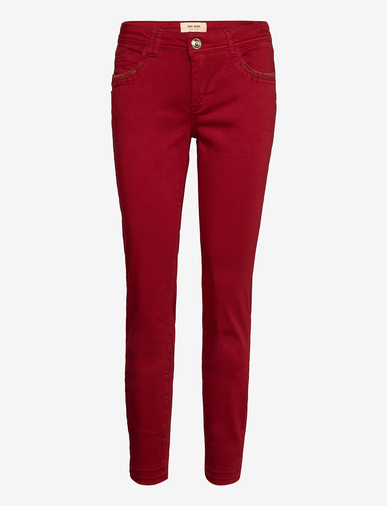 MOS MOSH - Sumner Jewel G.D Pant - slim jeans - biking red - 0