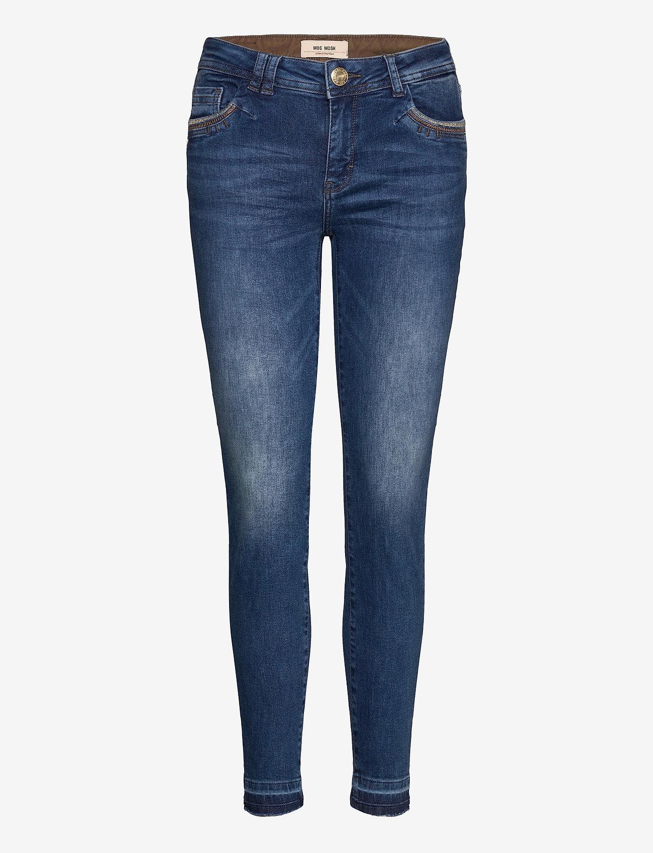 MOS MOSH - Sumner Jewel Jeans - wąskie dżinsy - blue - 0