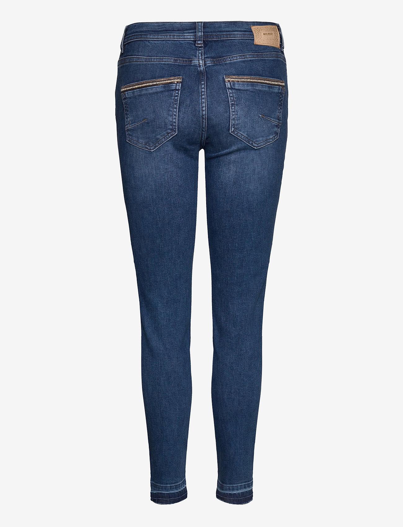 MOS MOSH - Sumner Jewel Jeans - wąskie dżinsy - blue - 1