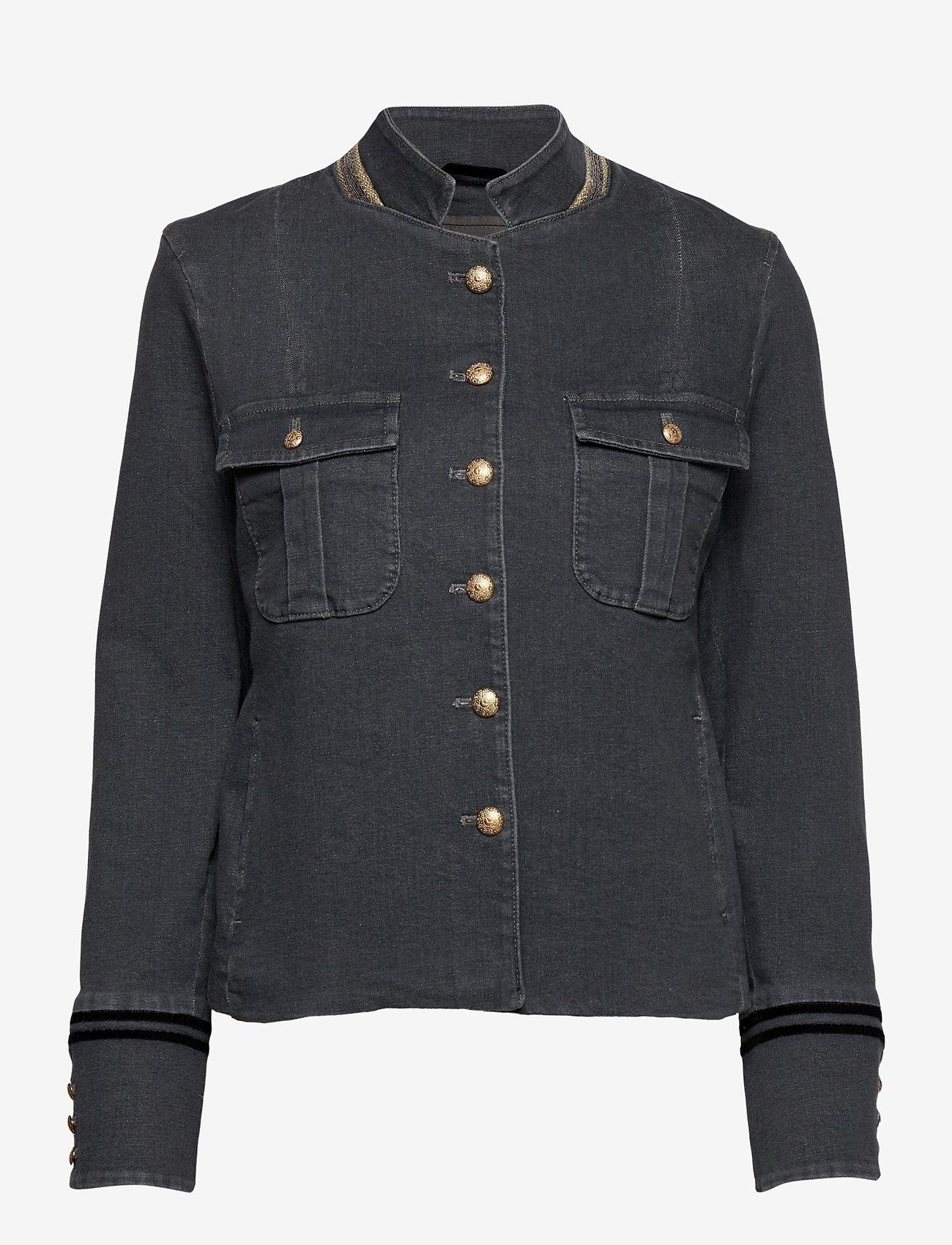 MOS MOSH - Selby Gallery Jacket - casual blazers - grey - 0