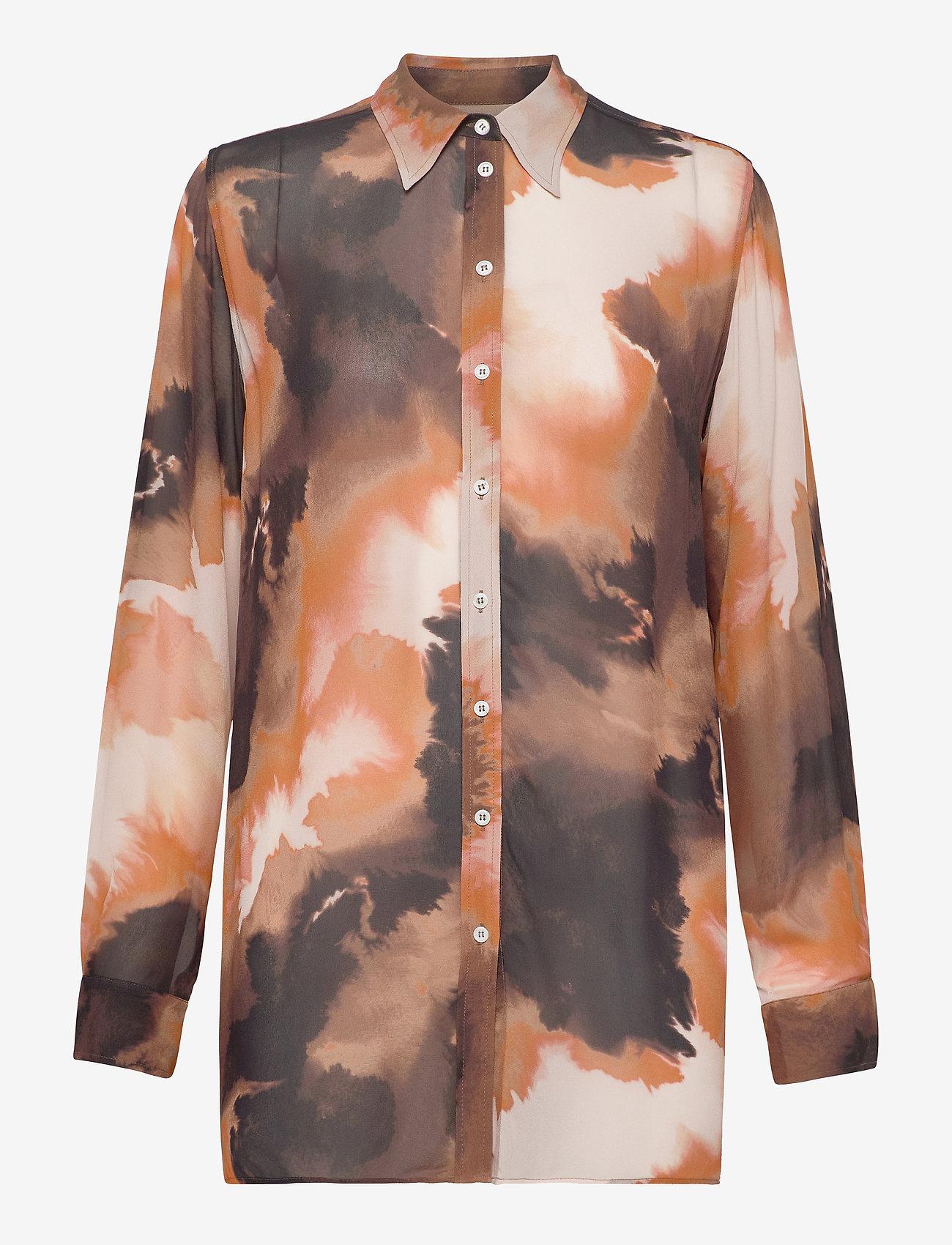 MOS MOSH - Tua Blur Shirt - chemises à manches longues - autumn leaf - 0