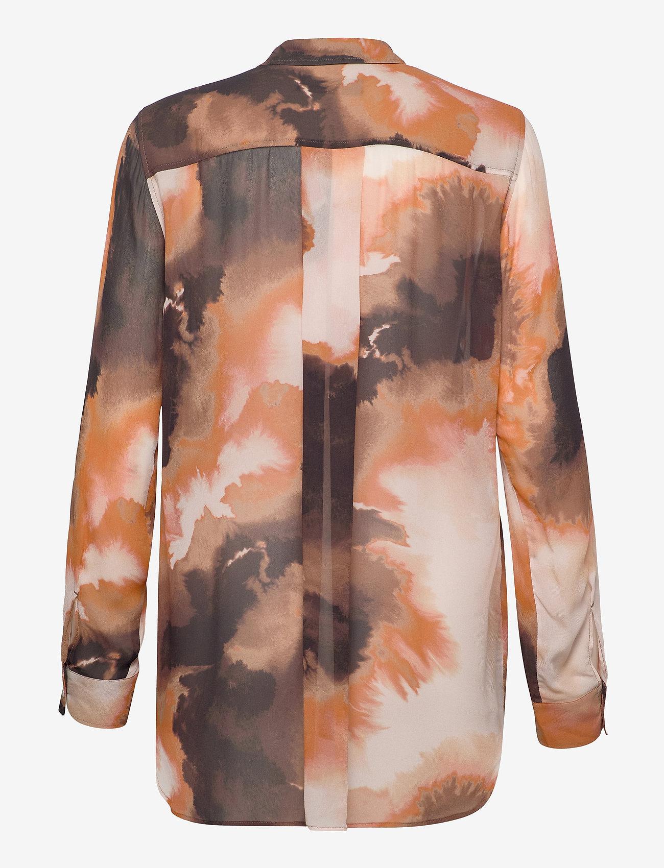 MOS MOSH - Tua Blur Shirt - chemises à manches longues - autumn leaf - 1