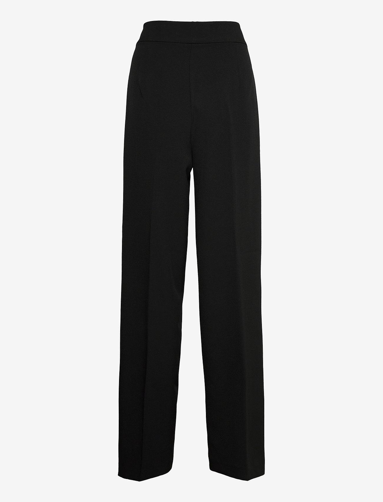 MOS MOSH - Rita Gaia Pant - bukser med brede ben - black - 1