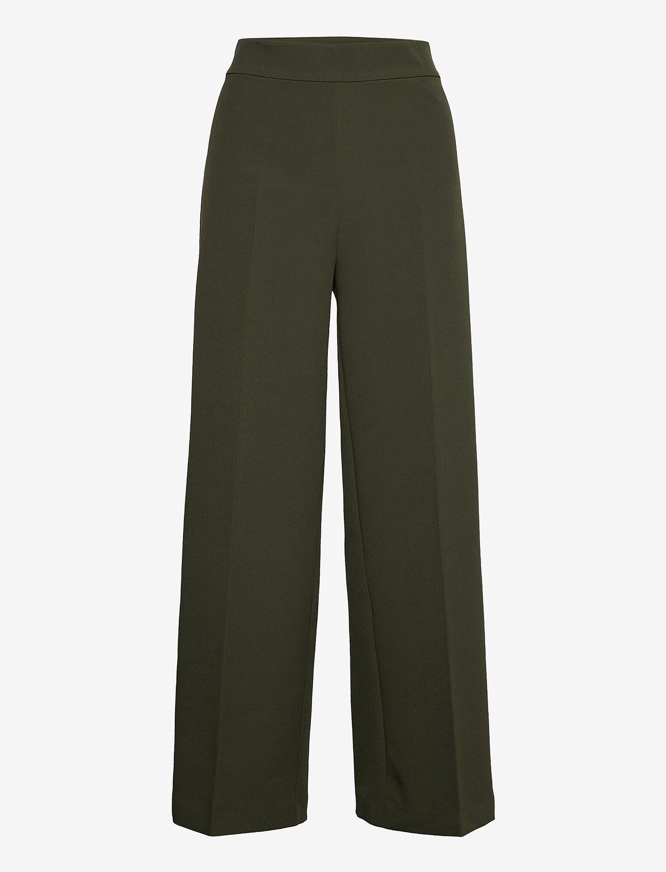 MOS MOSH - Rita Gaia Pant - bukser med brede ben - duffel bag - 0