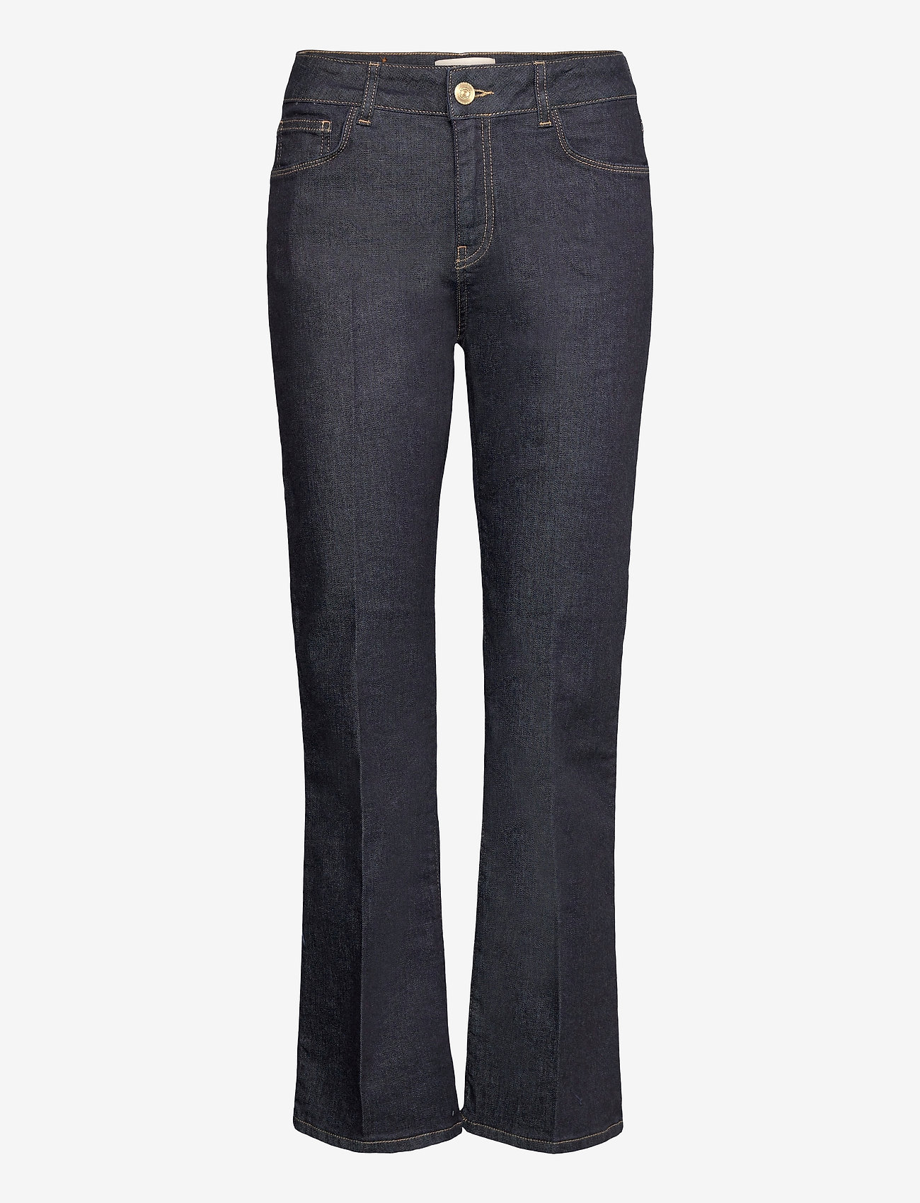 MOS MOSH - Cecilia Cover Jeans - schlaghosen - dark blue - 0