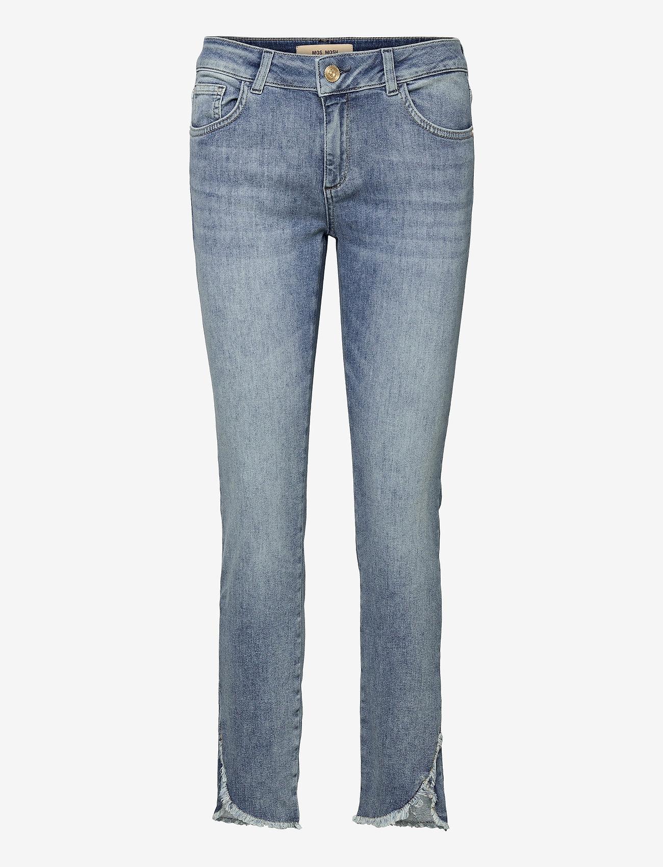 MOS MOSH - Sumner Epic Jeans - slim jeans - light blue - 0