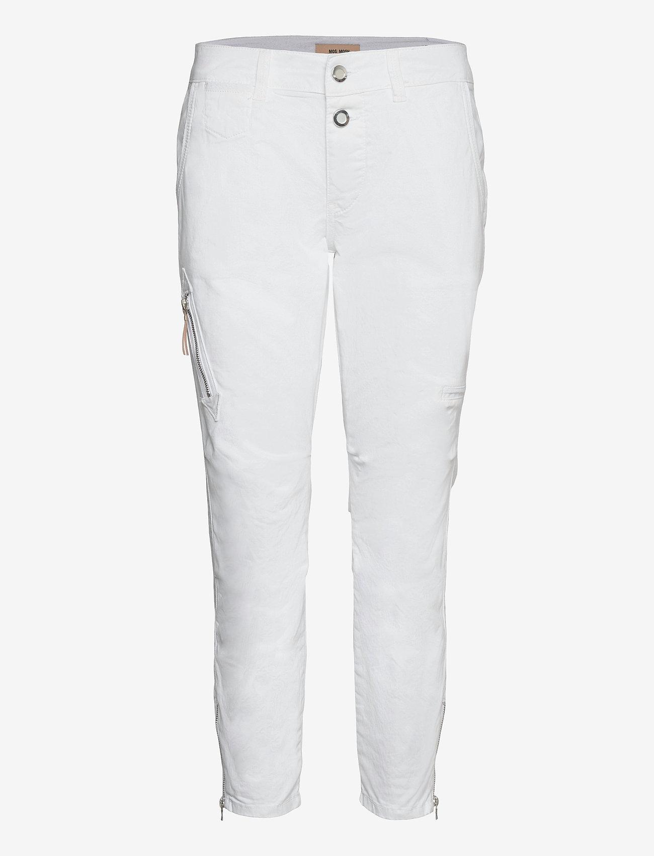 MOS MOSH - Valerine 7/8 Pant - chinos - white - 0