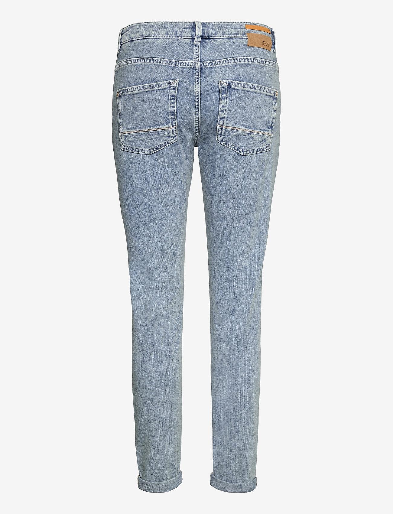 MOS MOSH - Bradford Smooth Jeans - slim jeans - light blue - 1