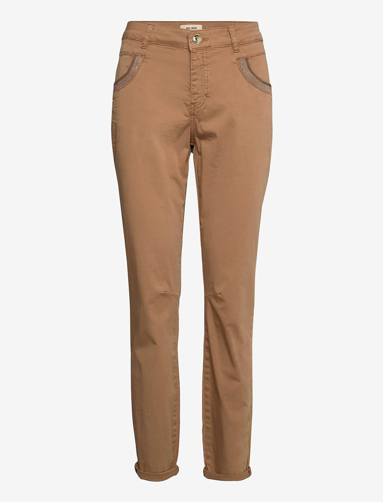 MOS MOSH - Naomi Daze Pant - chinos - toasted cocount - 0