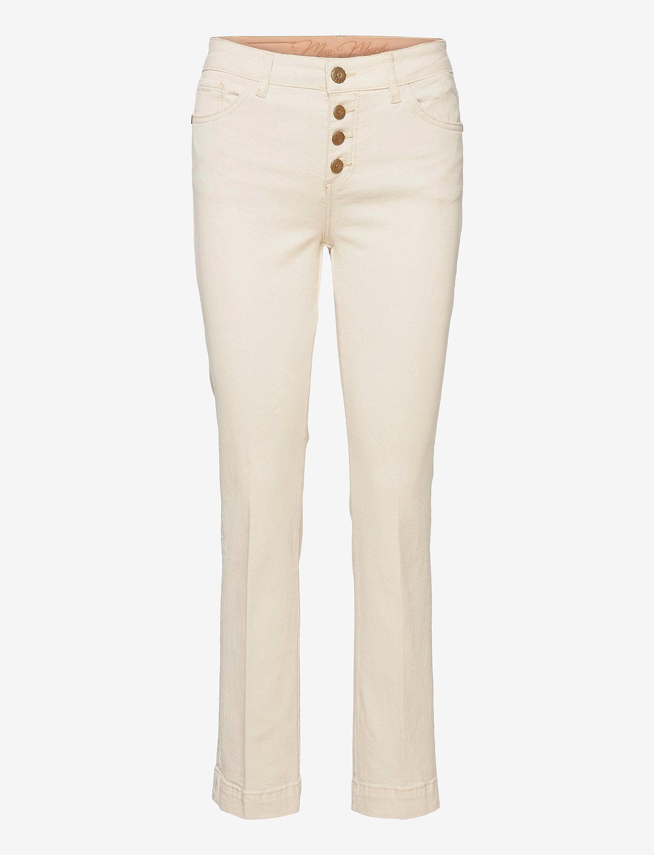 MOS MOSH - Ashley Cream Jeans - slim jeans - ecru - 0