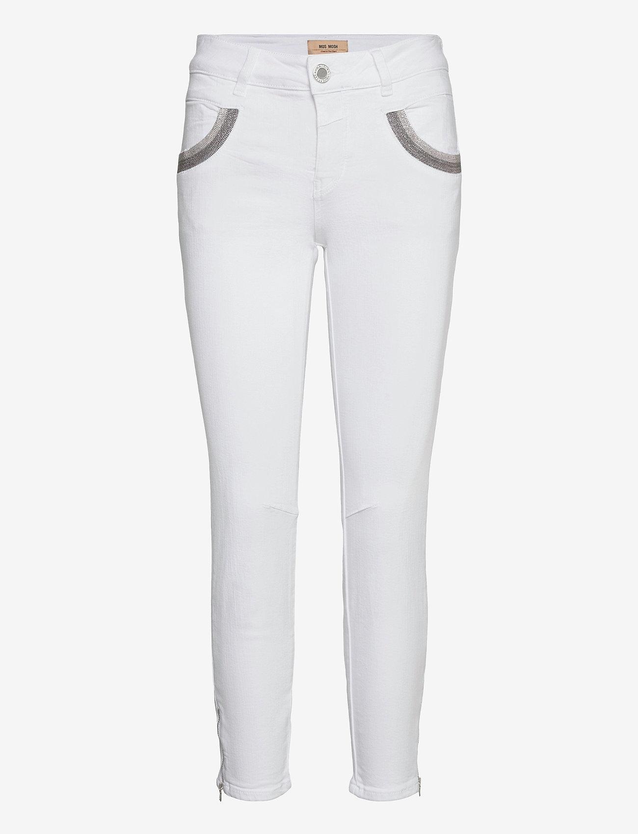MOS MOSH - Naomi Shade White Jeans - slim jeans - white - 0