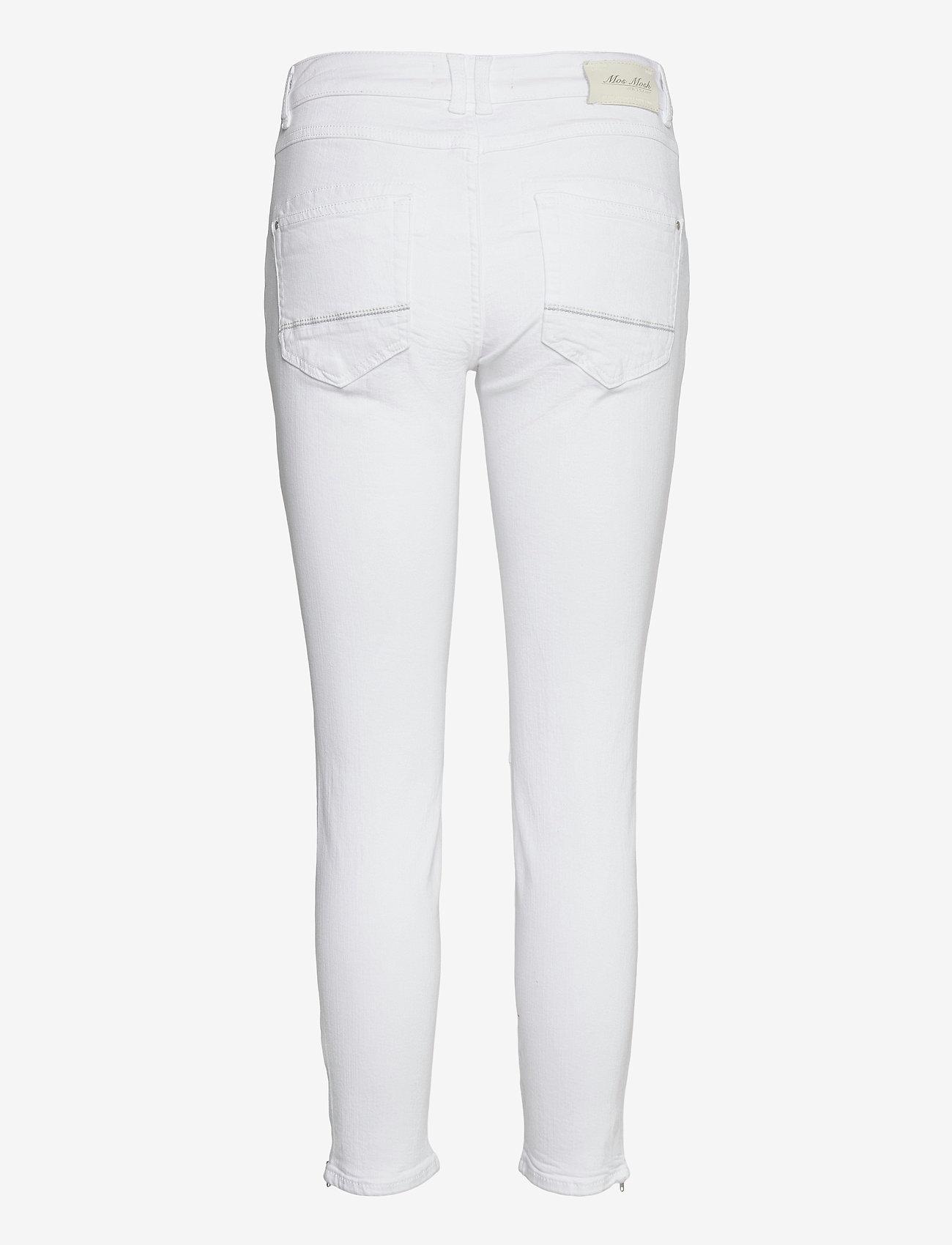 MOS MOSH - Naomi Shade White Jeans - slim jeans - white - 1