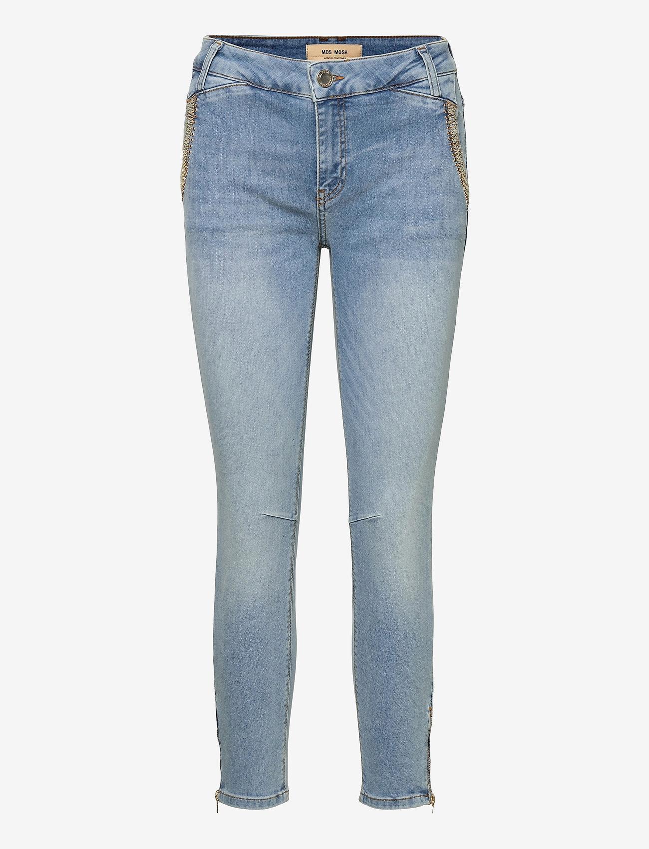 MOS MOSH - Etta Mercury Jeans - slim jeans - light blue - 0