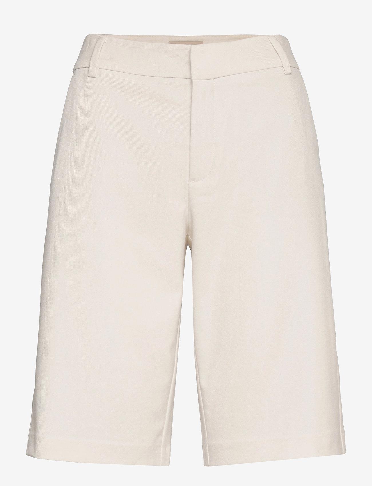 MOS MOSH - Gio Twiggy Bermuda Shorts - bermudas - ecru - 0